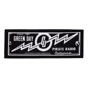 Green Day - Pirate Radio (Superstrip Patch)