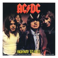 ACDC - Highway To Hell (Sticker)