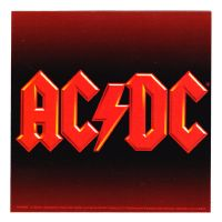 ACDC - Square Logo (Sticker)