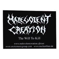 Malevolent Creation - The Will To Kill (Sticker)