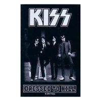 Kiss - Dressed To Kill (Sticker)