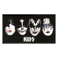 Kiss - Colour Faces (Sticker)