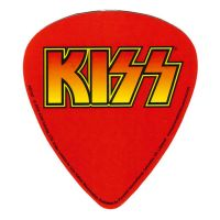 Kiss - Plectrum (Sticker)