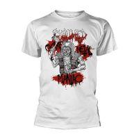 Exhumed - Gore Metal Maniac White (T-Shirt)