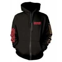 Kreator - Pleasure To Kill Pocket Logo (Zipped Hooded Sweatshirt)