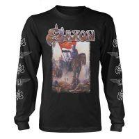 Saxon - Crusader (Long Sleeve T-Shirt)