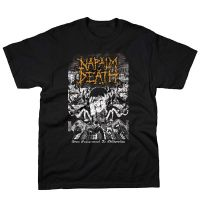 Napalm Death - From Enslavement Yellow Logo (T-Shirt)