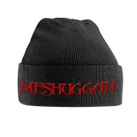Meshuggah - Red Logo (Ski Hat)