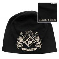 Machine Head - Crest (Discharge Print Jersey Beanie)