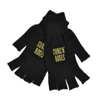 Guns N Roses - Gold Logo (Gloves)