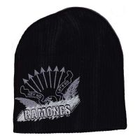 Ramones - Embroidered And Printed Logo (Beanie)