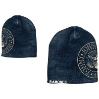 Ramones - Printed Seal & Tag Patch (Beanie)