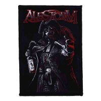 Alestorm - Rum Pirate Black (Patch)