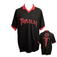 Trivium - Logo Football Polo (T-Shirt)