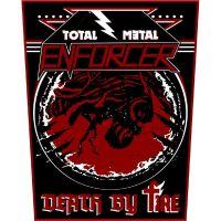 Enforcer - Total Metal (Backpatch)