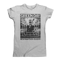 Green Day - Powershot (Girls T-Shirt)