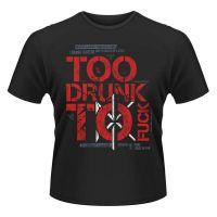Dead Kennedys - Too Drunk Lyric (T-Shirt)