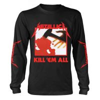 Metallica - Kill 'em All Black (Long Sleeve T-Shirt)