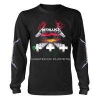 Metallica - Master Of Puppets Black (Long Sleeve T-Shirt)