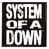 System Of A Down - Logo (Sticker)