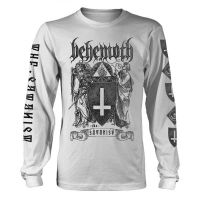 Behemoth - The Satanist White (Long Sleeve T-Shirt)