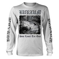 Burzum - Hvis Tar Lyset Oss White (Long Sleeve T-Shirt)