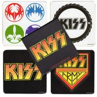 Kiss - Logos (Coasters)