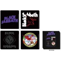 Black Sabbath - Logos (Coasters)