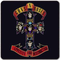 Guns N Roses - Appetite For Destruction (Single Coaster)