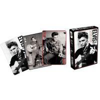 Presley, Elvis - Black & White (Playing Cards)
