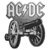 ACDC - For Those About To Rock (Metal Pin Badge)