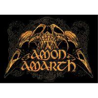 Amon Amarth - Raven Skull (Textile Poster)