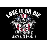 Avenged Sevenfold - Love It Or Die (Textile Poster)