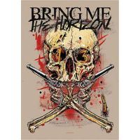 Bring Me The Horizon - Skull (Textile Poster)