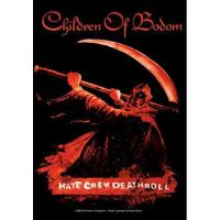 Children Of Bodom - Hate Crew Deathroll (Textile Poster)