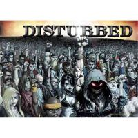 Disturbed - 10000 Fists (Textile Poster)