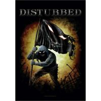 Disturbed - Face Flag (Textile Poster)