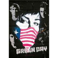 Green Day - Collage (Textile Poster)