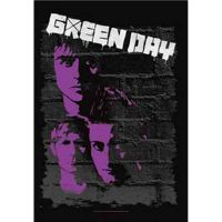 Green Day - Painted (Textile Poster)