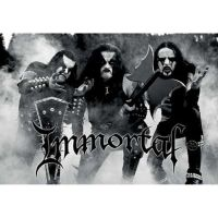 Immortal - Band (Textile Poster)