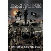 Iron Maiden - A Matter Of Life And Death (Textile Poster)