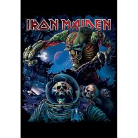 Iron Maiden - Final Frontier Cover (Textile Poster)