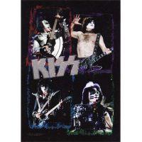 Kiss - Live Shots (Textile Poster)