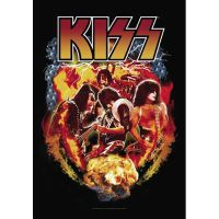 Kiss - Effects (Textile Poster)