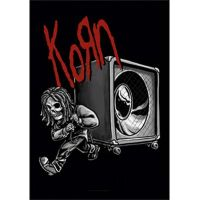 Korn - Bass (Textile Poster)