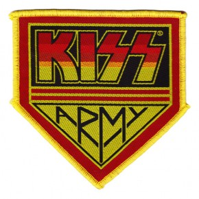 Kiss - Army Badge (Patch)