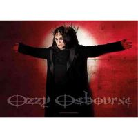 Ozzy Osbourne - Crucified (Textile Poster)
