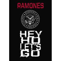 Ramones - Hey Ho Lets Go (Textile Poster)