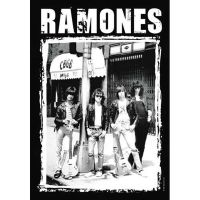 Ramones - CBGB (Textile Poster)