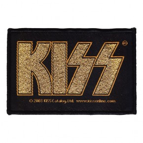 Kiss - Gold Logo (Patch)